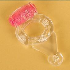 Прозрачное виброкольцо (ToyFa 818038-1)  Прочное упругое эрекционное кольцо с вибростимуляцией. <br>Вибрация кольца работает до 30 минут!! <br>Вибрация очень мощная и предназначена для стимуляции клитора девушки. <br>Для стимуляции мужчины по периметру кольца расположены мягкие шарики. <br>Удобная кнопка включения вибрации находится сбоку на стимуляторе.