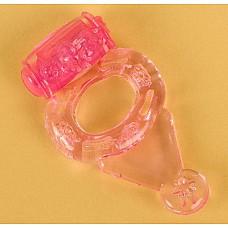 Розовое виброкольцо (ToyFa 818038-3)  Колечко на пенис, отлично поддерживающее эрекцию Вашего партнера, тем самым продлевая Ваше и его удовольствие! <br>Но помимо этого кольцо имеет сумасшедшую вибрацию, которая продолжается до 40 минут! <br>Яркий секс с новыми впечатлениями просто обеспечен!