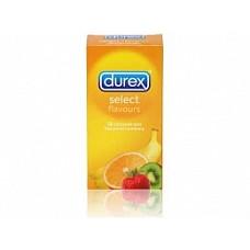 Презервативы DUREX  SELECT, 12 шт.  Презервативы из натурального латекса.