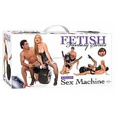 Секс-машина с 2 насадками и дистанционным пультом управления  Комплект включает: 2 вибромассажера, 30 мл лубриканта и 30 мл анти-бактериального очистителя.