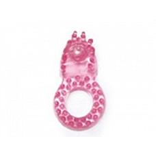 Эрекционное кольцо со стимулятором клитора  Эрекционное кольцо имеет мягкие шипы и выступ для стимуляции клитора партнерши или мошонки мужчины.