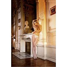 Angel Колготки OS (42-46), белый  Надев эти не осложненные деталями колготки белого цвета из прозрачного сетчатого материала, вы приобретете одновременно элегантный и особенно сексуальный вид.