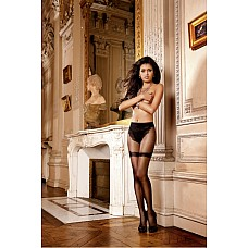 Angel Колготки OS (42-46), черный  Эти необычные черные колготки с рисунком очень удобны в носке и очаровательны на вид.