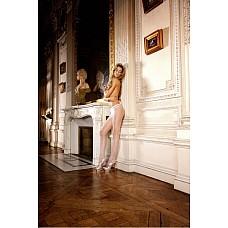 Angel Колготки OS (42-46), белый  Колготки, отвечающие всем требованиям — нежные, когда надеваешь, приятные в носке и обворожительные на вид.