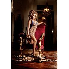 Animal Мини-платье OS (42-46), леопард  Это чудесное маленькое платье с леопардовым рисунком удовлетворит даже самый взыскательный вкус.