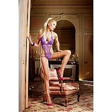 Barbie Боди OS (42-46), фиолетовый  В этом захватывающем дух тедди лилового цвета вы будете иметь на руках все козыри.
