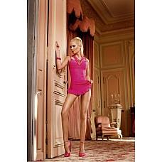Barbie Мини-платье OS (42-46), розовый  Это очаровательное платье-рубашка прямого покроя ярко-розового цвета подойдет для выхода.