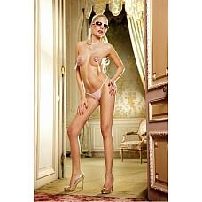 Barbie Трусики женские L, розовый  Мини-бикини классического покроя, отделанные особо тонким кружевом, которое привносит особенную элегантность и делает мини-бикини подходящими как для повседневной носки, так и для романтических моментов.