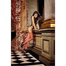 Spanish Чулки OS (42-46), красный  Эти очаровательные чулки в сеточку красного цвета являются классическим элементом женского гардероба и подходят для любого случая — как для повседневной носки, так и для искусного соблазнения партнера.