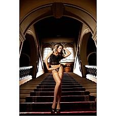Spanish Чулки OS (42-46), телесный  Эти очаровательные чулки в сеточку телесного цвета являются классическим элементом женского гардероба и подходят для любого случая — как для повседневной носки, так и для искусного соблазнения партнера.