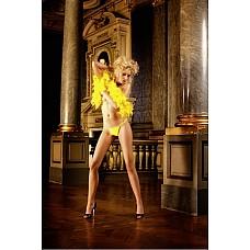 NeonBarock Трусики женские OS (42-46), желтый  Вы будете уверенны и элегантны в этих классических V-образных трусиках стринг желтого цвета как в моменты любовного соблазна, так и во время приятного отдыха.