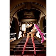 NeonBarock Чулки OS (42-46), неоновый розовый  Кто не рискует, тот не пьет шампанского.