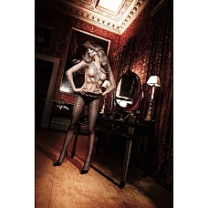 Have Fun Princess Колготки черные с сеточным узором из точечек OS (42-46)  С этими черными колготками в волнующем и прозрачном виде Вы окажетесь в центре внимания.