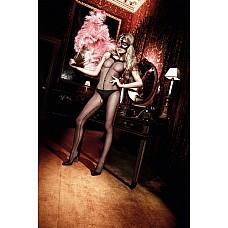 Have Fun Princess Чулок на тело черный комбинезон в откровенном дизайне с бретелька украшенными рюш  Укутайтесь в абсолютную чувственность.