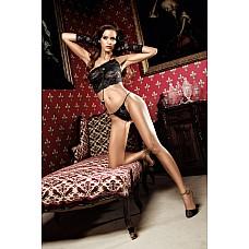 Dolce Vita Комплект бикини черный из роскошного кружева  Позвольте мистическому кружеву с орнаментом нашептывать заманчивые тайны Вашему телу.