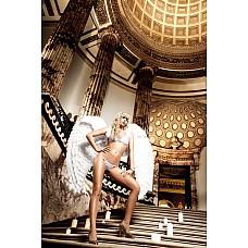 Back in Heaven Комплект бикини белый кружевной с бантиком  Нежнейший, белый комплект бикини с завязками за шеей в тончайшем дизайне.