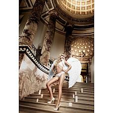 Back in Heaven Бюстгальтер белый с мягкими чашечками и косточками 34D  Кульминационным моментом белого бюстгальтера является его роскошный и изысканный внешний вид.