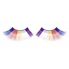 Ресницы разноцветные длинные  Очаровательные веерообразные длинные и яркие ресницы ручной работы с необычным блеском.