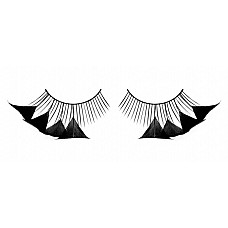 Ресницы черные перья  Волнующие ресницы из мягких высококачественных перьев ручной обработки, черные и очень пушистые.