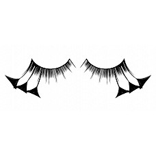 Ресницы чёрные  перья  Красивые короткие черные ресницы из небольших мягких высококачественных перьев ручной обработки трeугольной формы, густые.