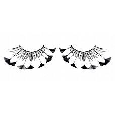 Ресницы чёрные  перья  Необыкновенные утонченные черные ресницы из небольших мягких высококачественных перьев ручной обработки трeугольной формы.
