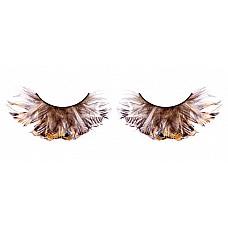 Ресницы чёрные  перья  Фантастические, необычные черные ресницы из мягких высококачественных перьев ручной обработки с треугольными перышками.