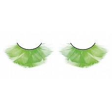 Ресницы цветные  перья  Величественные и предельно длинные ресницы из мягких высококачественных перьев ручной обработки в сдержанно ярких переливающихся цветах.