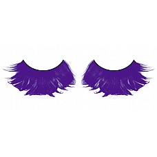 Ресницы голубые  перья  Большие и яркие, невероятно густые ресницы из мягких высококачественных перьев ручной обработки интенсивного синего цвета.