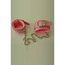 Оковы розовые с мехом винил  Оковы<br />Изготавливаются из искусственной кожи.