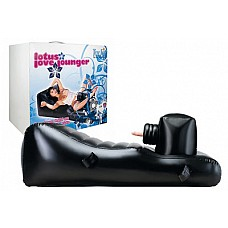 Надувная секс-машина с вибратором LOTUS LOVE LOUNGER W VIBRATOR BLACK  Надувная секс-машина с вибратором LOTUS LOVE LOUNGER W VIBRATOR BLACK.
