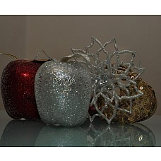 Яблоко серебряное