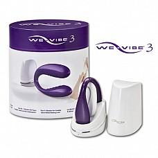 We-Vibe III Электровибромассажер фиолетовый с дистанционным пультом pur-W-V-III  Новейшая усовершенствованная модель We-Vibe 3 стала очередным взрывным хитом в облати секс индустрии после выхода We-Vibe 2.