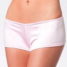 Обтягивающие розовые шортики BRD 101pink OS XL CQ  Комфортные, идеально облегающие фигуру трусики-шортики выполнены из однотонного, эластичного материала с легким мерцанием.