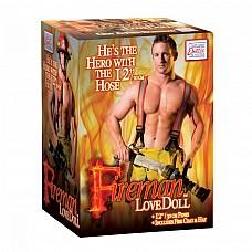 Кукла надувная Fireman Love Doll 1951-10BXSE  Кукла-пожарный в человеческий рост.