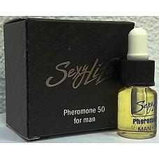 """Духи концентрированные """"Sexy Life"""" с феромонами мужские """"Pheromone"""" 50% koncm50-sl  Это лучшее средство для привлечения внимания противоположного пола и гармонизации межличностных отношений."""