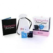 Кубики для игр Kamasutra E22006  Три кубика, позволяющие разнообразить Вашу сексуальную жизнь: - Голубой с позициями из Камасутры - Белый с выбором места - Черный с дополнительными вариантами<br>Производитель: <b>LoversPremium</b><br/>