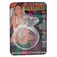 """Эрекционное кольцо """" Бриллиант""""  ( Dream toys 50454)  Эрекционное кольцо """" Бриллиант"""""""