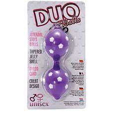 Вагинальные шарики в цветной оболочке ( Dream toys 50477)  Эти вагинальные шарики удлиненной формы помогут вам стать лучшей любовницей в жизни вашего мужчины. Он придет в восторг от силы интимных объятий, приобретенной благодаря регулярным занятиям с этими лиловыми бусинами наслаждения. <br><br> Эти вагинальные шарики помогут не только укрепить интимные мышцы, но и избавиться от застойных явлений в области малого таза. Самочувствие для самого лучшего секса гарантировано!
