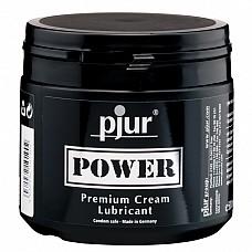 Лубрикант для фистинга pjur®Power 500 ml  Расслабляющий анальный гель на силиконовой основе с экстра длительным скольжением.