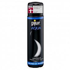 Увлажняющий лубрикант Pjur AQUA , 100 ml  Лубрикант на водной основе. Качество говорит само за себя. Очень бережно относится к слизистым оболочкам на микробиологическом уровне. Лубрикант увлажняет кожу, не делая ее липкой. Не содержит нефтепродуктов, масел, и парфюмерных добавок, что делает его особо нежной для вашей кожи и слизистых оболочек. Сверхмягкая формула с продолжительным скольжением питает и защищает сухую и поврежденную кожу. Будь то ежедневные ласки или регулярный уход за телом: pjur® AQUA всегда оставляет приятные ощущения.