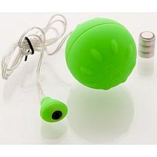 Зеленое виброяйцо 4,5 см.  Виброяйцо 4,5см зеленое