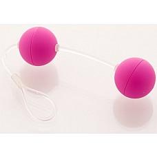 Фиолетовые вагинальные шарики  Шарики вагинальные 11см фиолет.