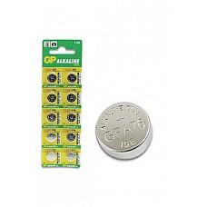 Батарейка A76  в блистере по 10 шт.  Алкалиновые батарейки GP типа LR41 в форме таблеток.