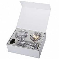"""Прозрачный мужской набор верности с насадками (большой Размер) EF-CB4000-WHT  Данная игрушка является мужским аналогом женского """"пояса верности"""" с глубиной клетки для пениса 10 см."""