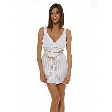 Греческая богиня, M/L  Элегантное платье со шнурочком.