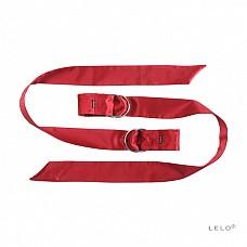 Любовные ленты Boa (LELO), Красный  Шелковые ленты Boa от LELO - это чувственные и нежные аксессуары для разнообразия Вашего с партнером удовольствия.