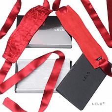 Шелковые наручники Etherea (LELO), Красный  Перед Вами самые утонченные, самые элегантные и роскошные из когда-либо созданных наручников - 100%-ные шелковые наручники Etherea от LELO.