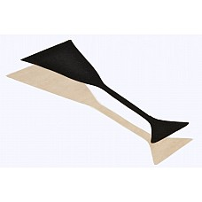 Трусики на липучке. Одноразовые., XS, Черный  Трусики на липучке (стикини) одноразового использования абсолютно не заметны под одеждой, к тому же очень удобны в использовании.