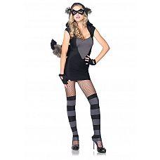 Игровой костюм Нежный енот, M/L  Игровой костюм для особых случаев.