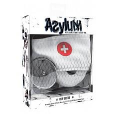 Набор доктора Asylum: шапочка, отражатель и эластичная фиксация  Набор доктора Asylum: шапочка, отражатель и эластичная фиксация.